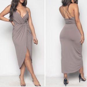 Dresses & Skirts - Split Front Bodycon Dress